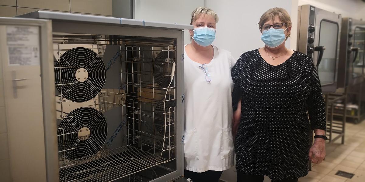 Új konyhai gépeket kapott a pilisvörösvári főzőkonyha