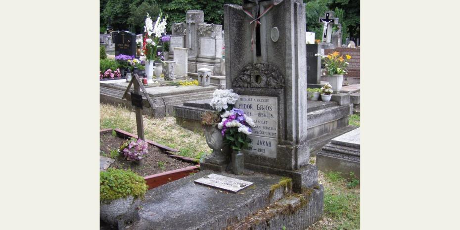 Árajánlat kérés Fedor Lajos síremlékének felújítására